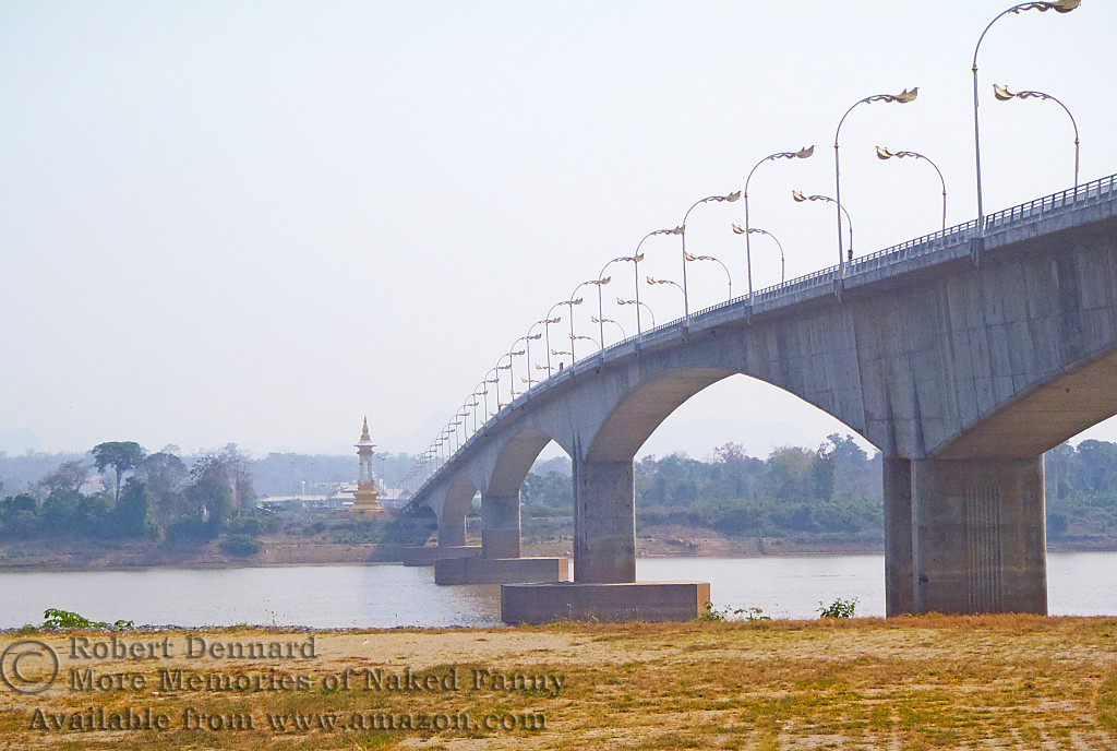 The bridge across to Laos.