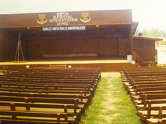 Harley-Smith-Wolfe Amphitheater.  USAF Photo