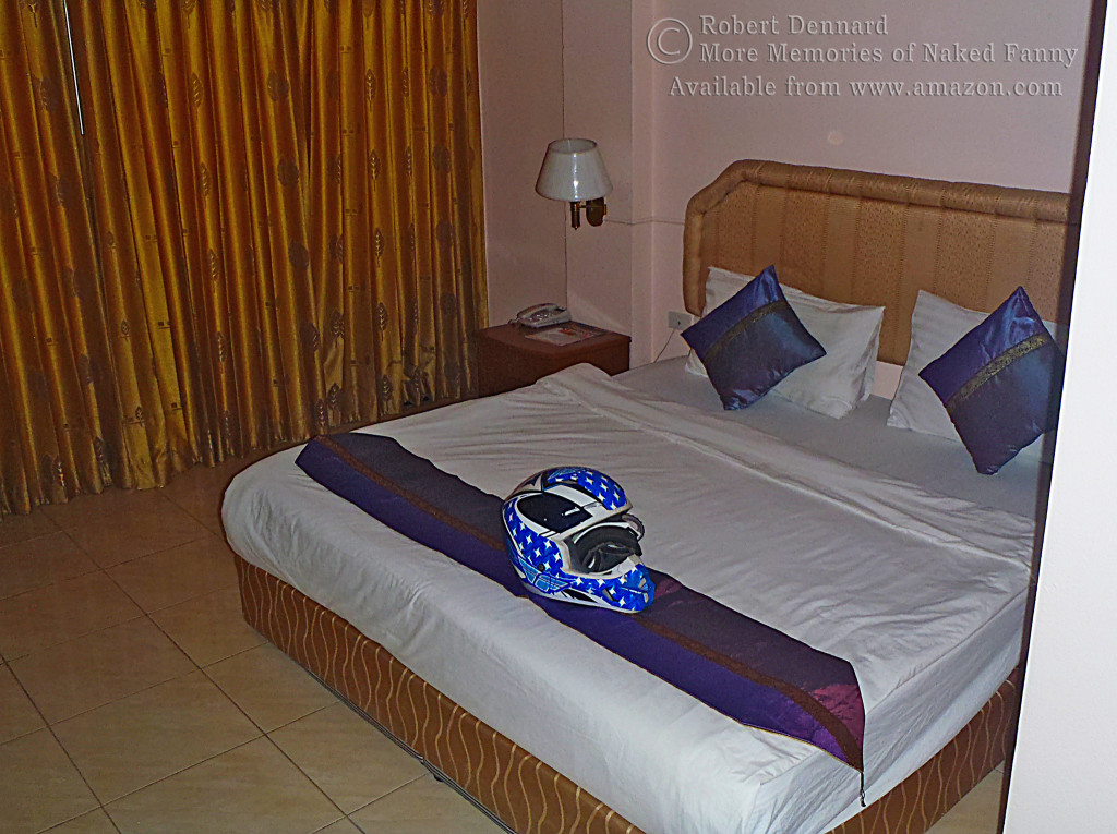 Every place I stayed had a king sized bed... a king sized rock hard bed.