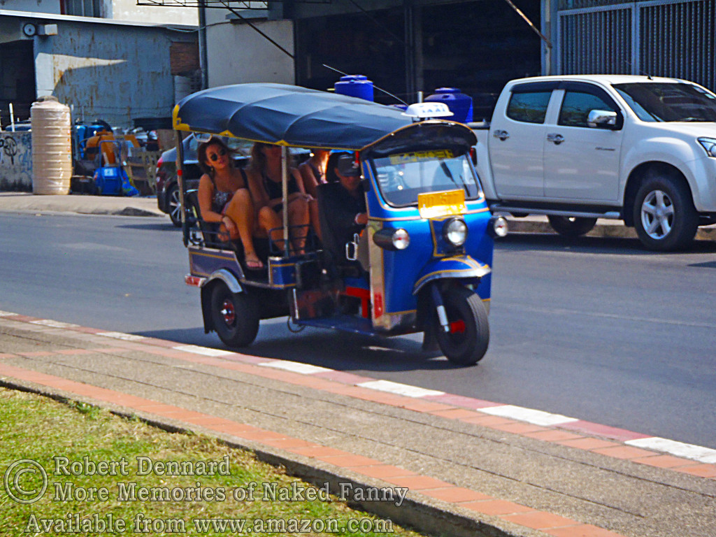 Tuk-Tuks have now replaced all the old style samlars