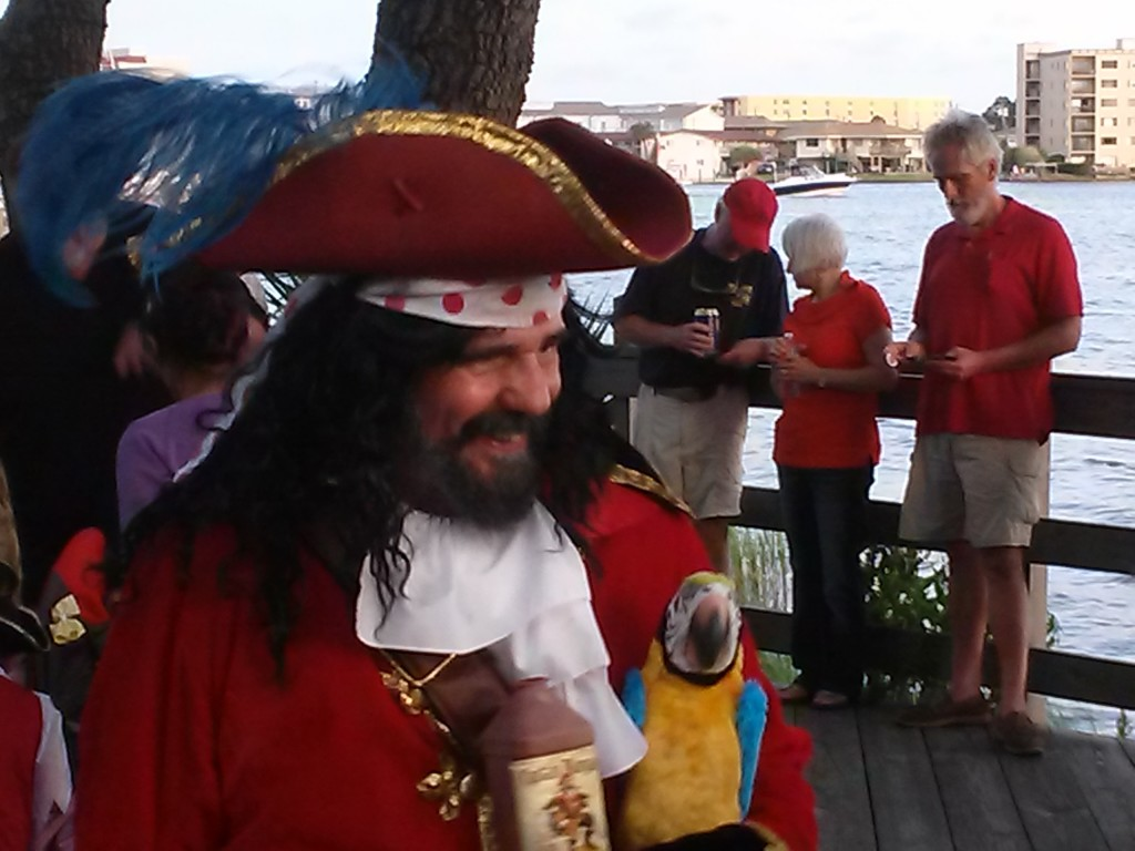 Arrrrgggghhhhh! Capt'n Morgan perhaps.