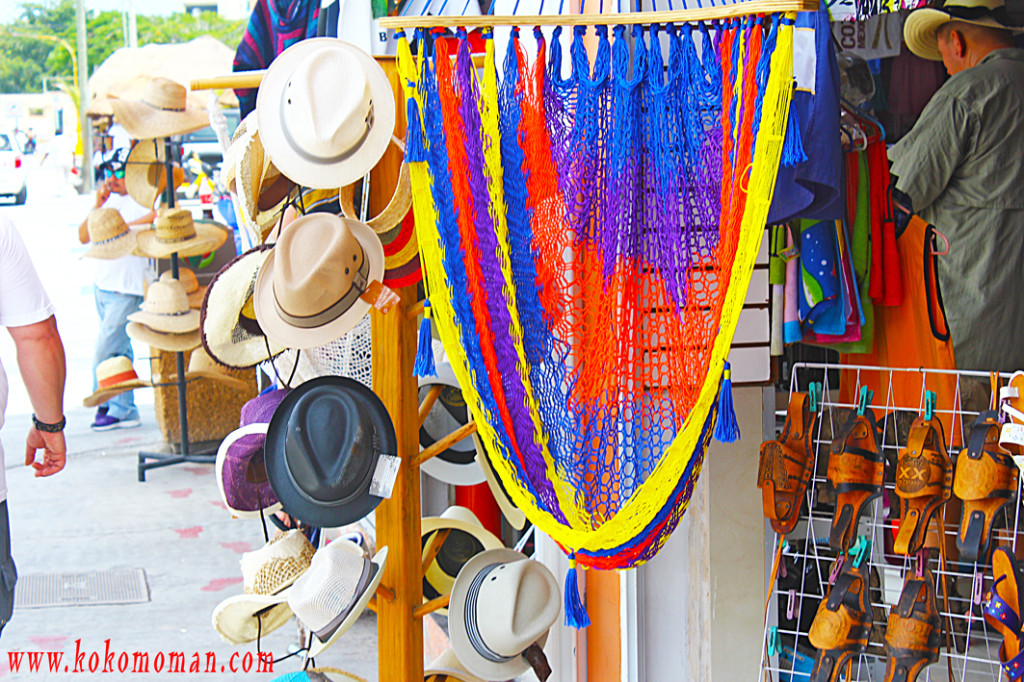 The tourist trap shops in Mexico always have colorful stuff to draw you in.