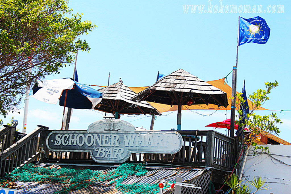 The Schooner Wharf Bar. Still a piece of old Key West.