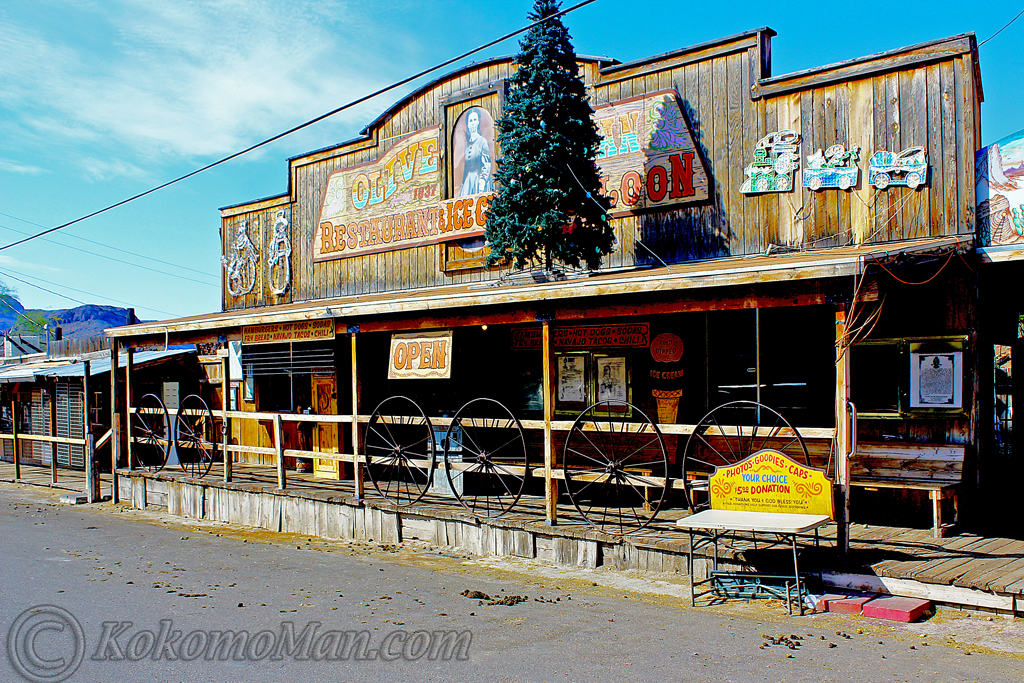 The Olive Oatman Saloon