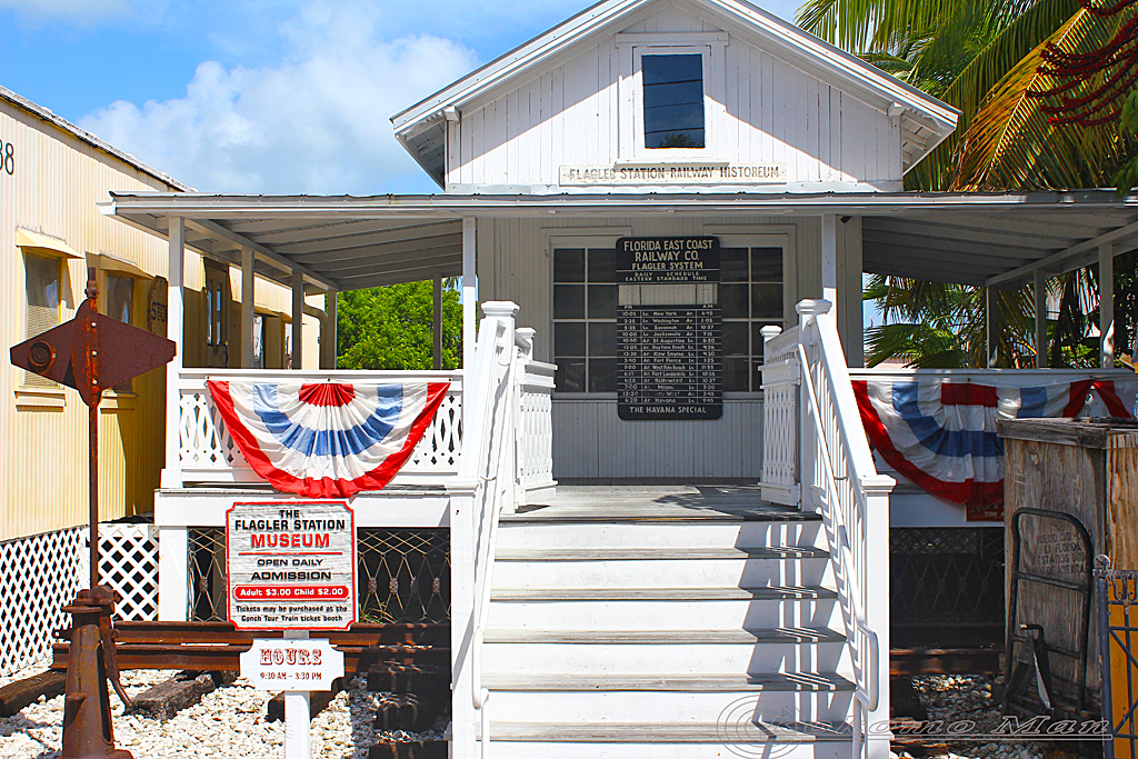 Flagler Station - A significant part of the history of Florida and Key West
